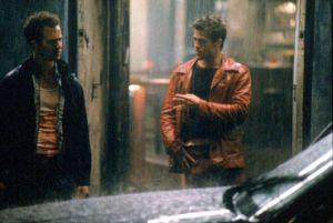 """"""" - Après vous Mr Durden !    - Mais non, après toi ! """""""