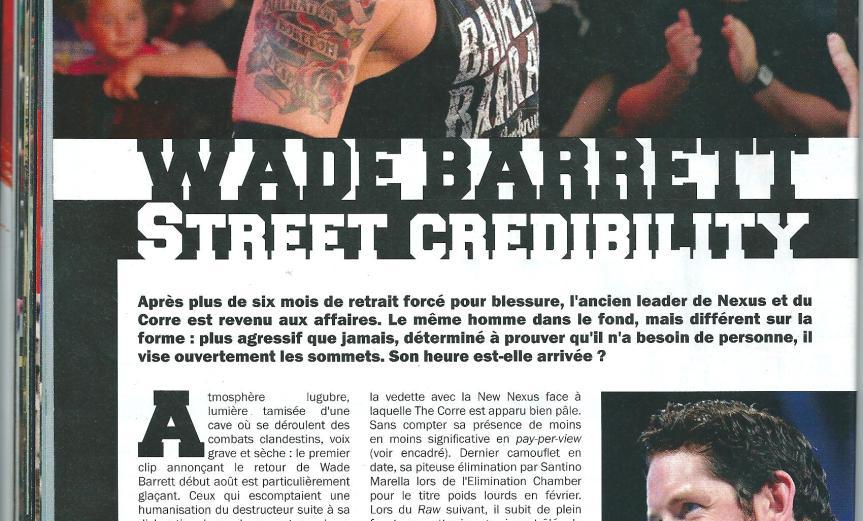 Wade Barrett Dating 2013