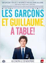 Allociné Les garçons et Guillaume, à table!