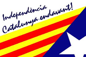 Drapeau Catalogne 2 Pro Indépendance