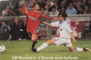 La rencontre OM-Monaco d'avril 2000 sera aussi très dur en dehors du terrain.