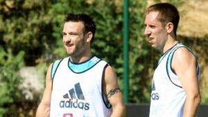 """Première """"affaire"""" Ribéry en 2006, départ finalement repoussé d'un an."""