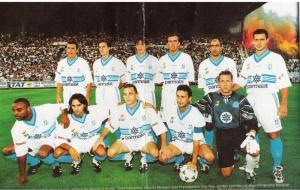 L'équipe-type de la saison 1996-1997, belle sur le papier mais montée trop précipitamment.