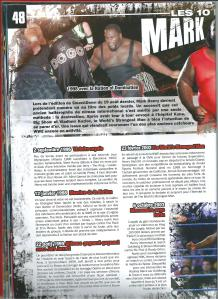 Planète Catch n°37 Mark Henry en 10 Dates 1 sur 2 001