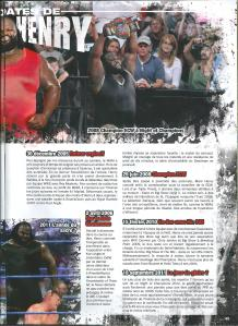Planète Catch n°37 Mark Henry en 10 Dates 2 sur 2 001