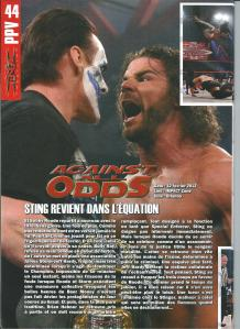 Planète Catch n°43 Review TNA Against All Odds 2012 Page 1 001