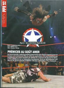 Planète Catch n°50 Review TNA No Surrender 2012 Page 1 001