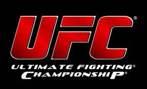 UFC logo lettres rouges fond noir