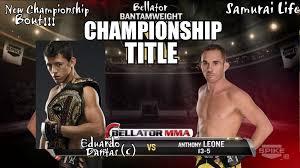 Bellator Dantas vs Leone