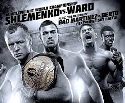 Bellator Shlemenko vs Ward