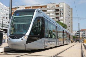 Municipales 2014 Toulouse Tramway Station Arenes