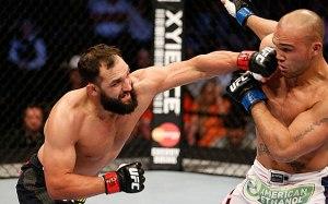 UFC 171 Hendricks-Lawler Gauche