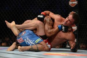 UFC 171 Lombard-Shields