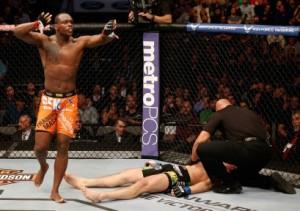 UFC 171 OSP-Krylov finish