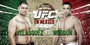 Fabricio Werdum Portrait 4 Affiche UFC Mexico