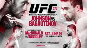 UFC 173 Affiche UFC 174