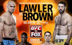 UFCFOX12 Affiche de l'event