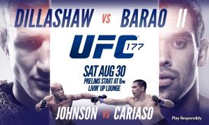 UFC 177 Affiche d'origine
