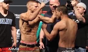 UFC 177 Dillashaw vs Soto Pesée
