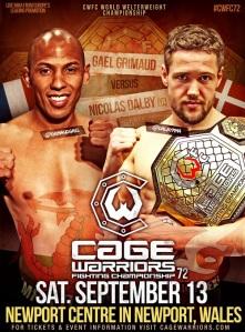 WOFW#1 Affiche Cage Warriors 72