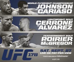 WOFW#3 UFC 178 Affiche