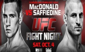 WOFW#3 UFC Fight Night 54 Affiche