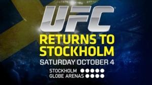 WOFW#3 UFC Stockholm Affiche