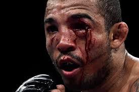 UFC 179 Aldo vs Mendes 2 Oeil ensanglanté