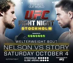WOFW#4 Affiche UFC Fight Night 53
