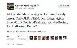 WOFW#4 News Conor McGregor