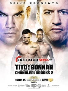 15112014 Review Affiche Bellator 131
