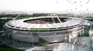 Vision festive du Stadium tel qu'on l'attend pour l'Euro 2016. Le club y résidant donnera-t-il aussi le sourire ?