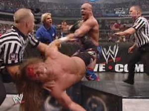 Si Kane est parvenu à me voler le record d'éliminations, celui du plus grand nombre de bladejobs ne tombera jamais.