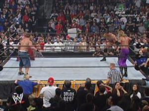 Accessoirement quatre hommes n'ayant pas encore touché la big belt, ça a quand même plus de gueule que Kane et Big Show.