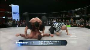 Heureusement la TNA sait donner dans les finishs sophistiqués.