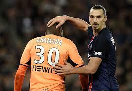 La condescendance d'Ibrahimovic pour Ahamada valait mille mots.