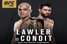 UFC 195 Affiche