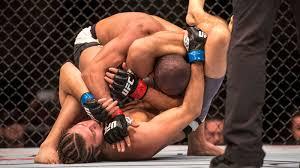 UFC 195 Ortega-Brandao finish