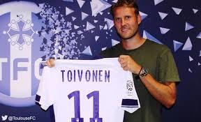 Toivonen, jusqu'ici homme-clé à l'extérieur avec deux buts et une passe décisive.